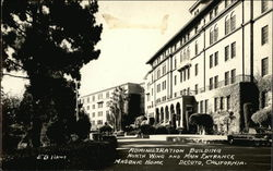 Administration Building: Masonic Home Postcard