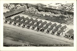 "Aerial View of Robert's Cottages - 704 North Strand - ""On the Beach"""