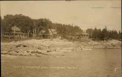 Scene at Baldwin's Head