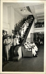 Sailors on Escalator