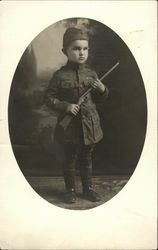 Harmon Wilkinson - Soldier Boy with Toy Gun