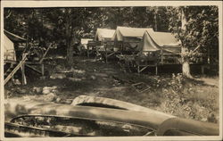 View of Campground, Asquam Lake