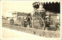 Old Horse-Drawn Fire Engine, Service Station