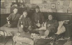 Soldiers Drinking Champagne, Feb. 14, 1919