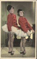 Two Girl Dancers - Shirley Temple?