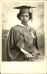 Graduation Portrait: African American Woman