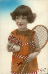 Prettiest Tennis Player Postcard
