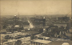 View of City from the Capitol Building