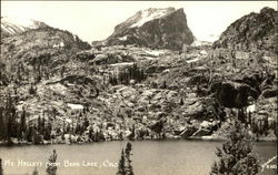 Mt. Hallett From Bear Lake Postcard