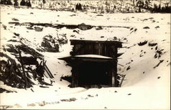Carlton Tunnel, Near Leadville Postcard
