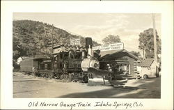 Old Narrow Gauge Train