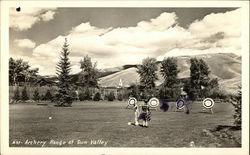 Archery Range at Sun Valley, Idaho