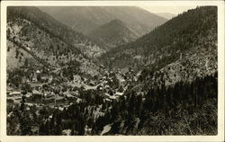 Town in Treed Valley - Idaho?