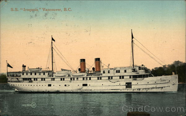 SS Iroquois Vancouver Canada British Columbia