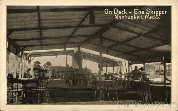 On Deck - The Skipper Nantucket Massachusetts Interiors