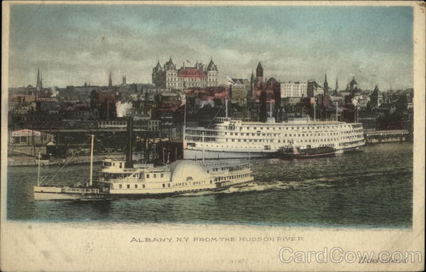 From the Hudson River Albany New York Steamers