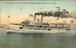 SS Kennedy on Run From Seattle to Bremerton