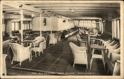 "The All Weather Deck Lounge ""Royal Eagle"""