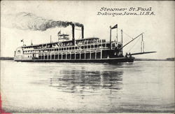 Steamer St Paul on the Water