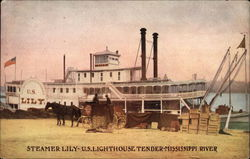 Steamer Lily - US Lighthouse Tender Mississippi River