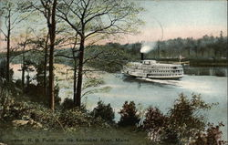 Steamer R.B. Fuller on the Kennebec River