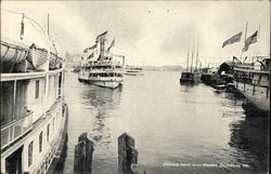 Steamer Louise in the Harbor