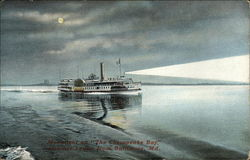 "Moonlight on ""The Chesapeake Bay"", Steamer Louise"