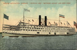 "Hudson Navigation Company ""Peoples Line"""