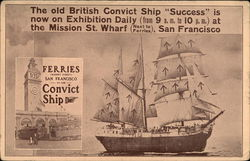 Old British Convict Ship Success