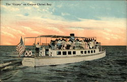 "The ""Gypsy"" on Corpus Christi Bay"