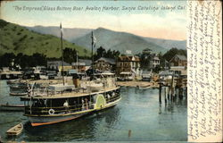 """The Empress"" Glass Bottom Boat, Avalon Harbor"