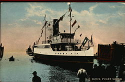 S.S. Sioux Postcard