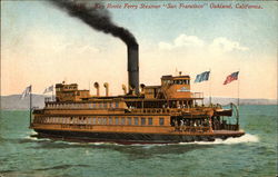 "Key Route Ferry Steamer ""San Francisco"""