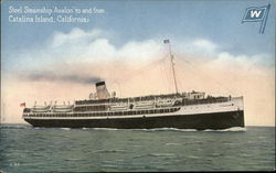 "Steel Steamship ""Avalon"""
