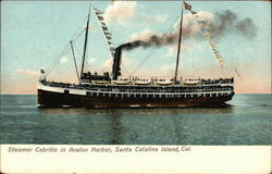 Steamer Cabrillo in Avalon Harbor