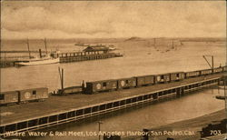 Where Water and Rail Meet, Los Angeles Harbor