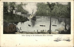 Silver Spring on the Ocklawaha River