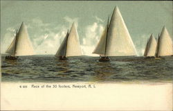 Race of the 30 Footers