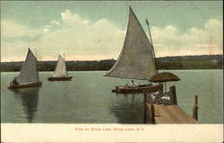View on Silver Lake Postcard