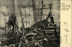 The Great Storm of Sept. 27, 1906 - Wrecked Vessel