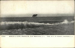 Wreck of Str. Franklin, East Moriches