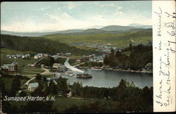 Steamer in Sunapee Harbor