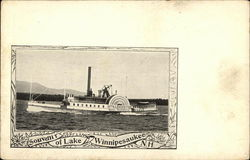 "Souvenir of Lake Winnipesaukee, Steamer ""Mt. Washington"""