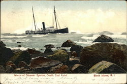 Wreck of Steamer Spartan, South of East Point
