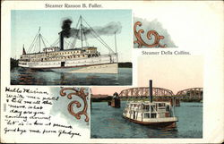 Steamer Ranson B Fuller and Steamer Della Collins