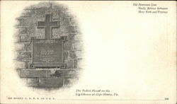 The Tablet Placed on the Lighthouse