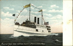 Steamer Cape Cod Between Boston & Provincetown