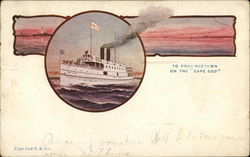 Cape Cod S. S. Co. Postcard