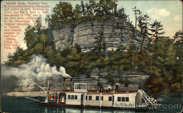 Lola Passing Starved Rock Illinois Boats, Ships