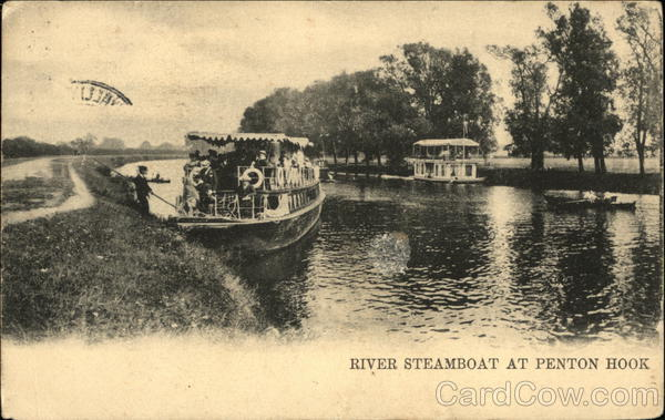 River Steamboat at Penton Hook England